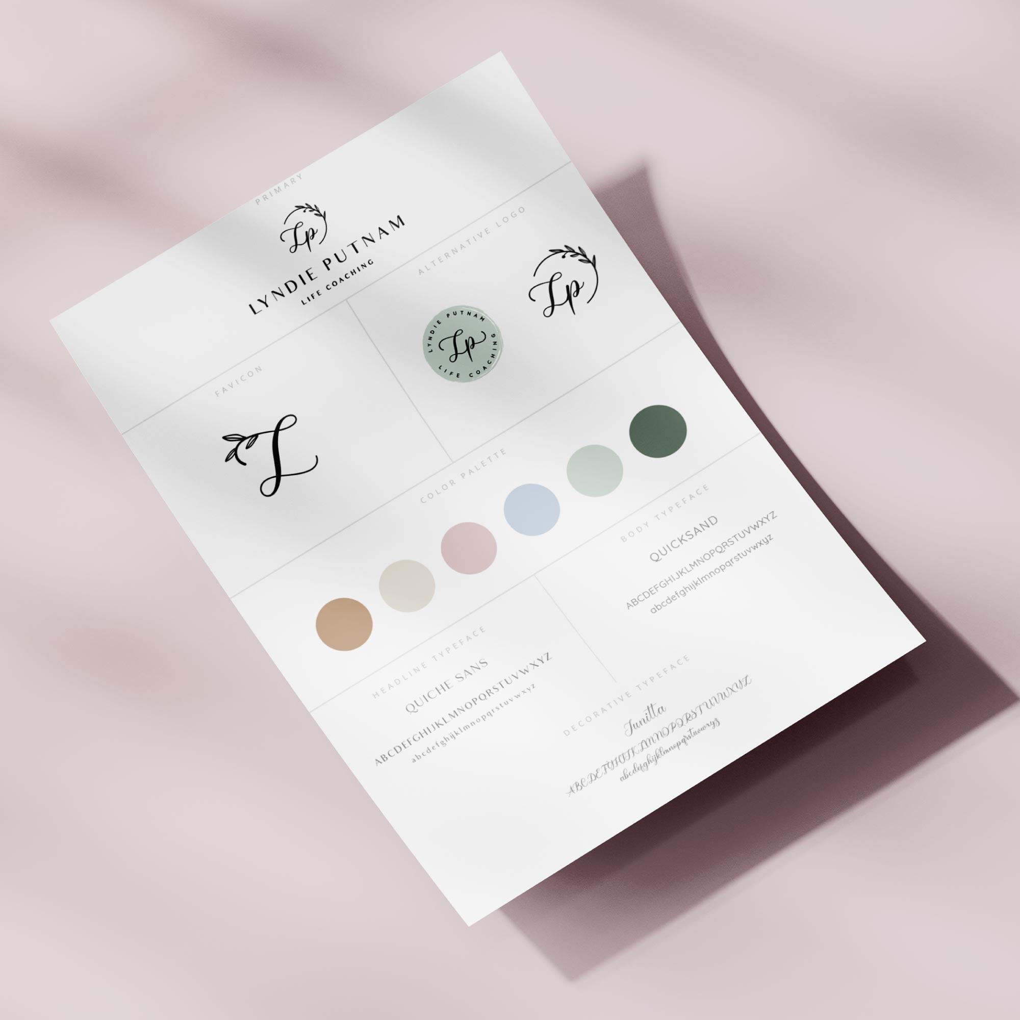 Lyndie Putnam - Brand & Website Design