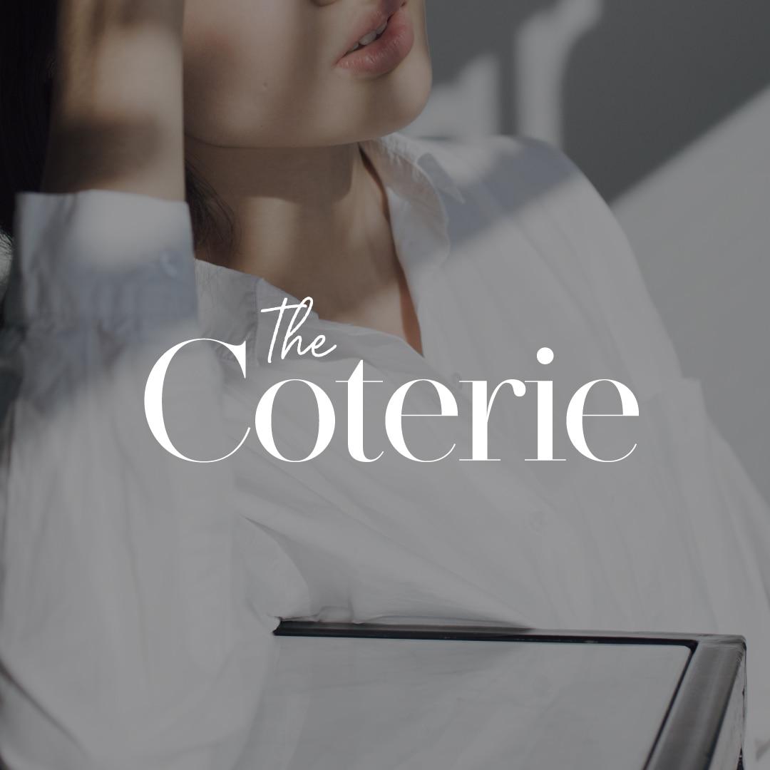 The Coterie - Brand & Membership Website Design