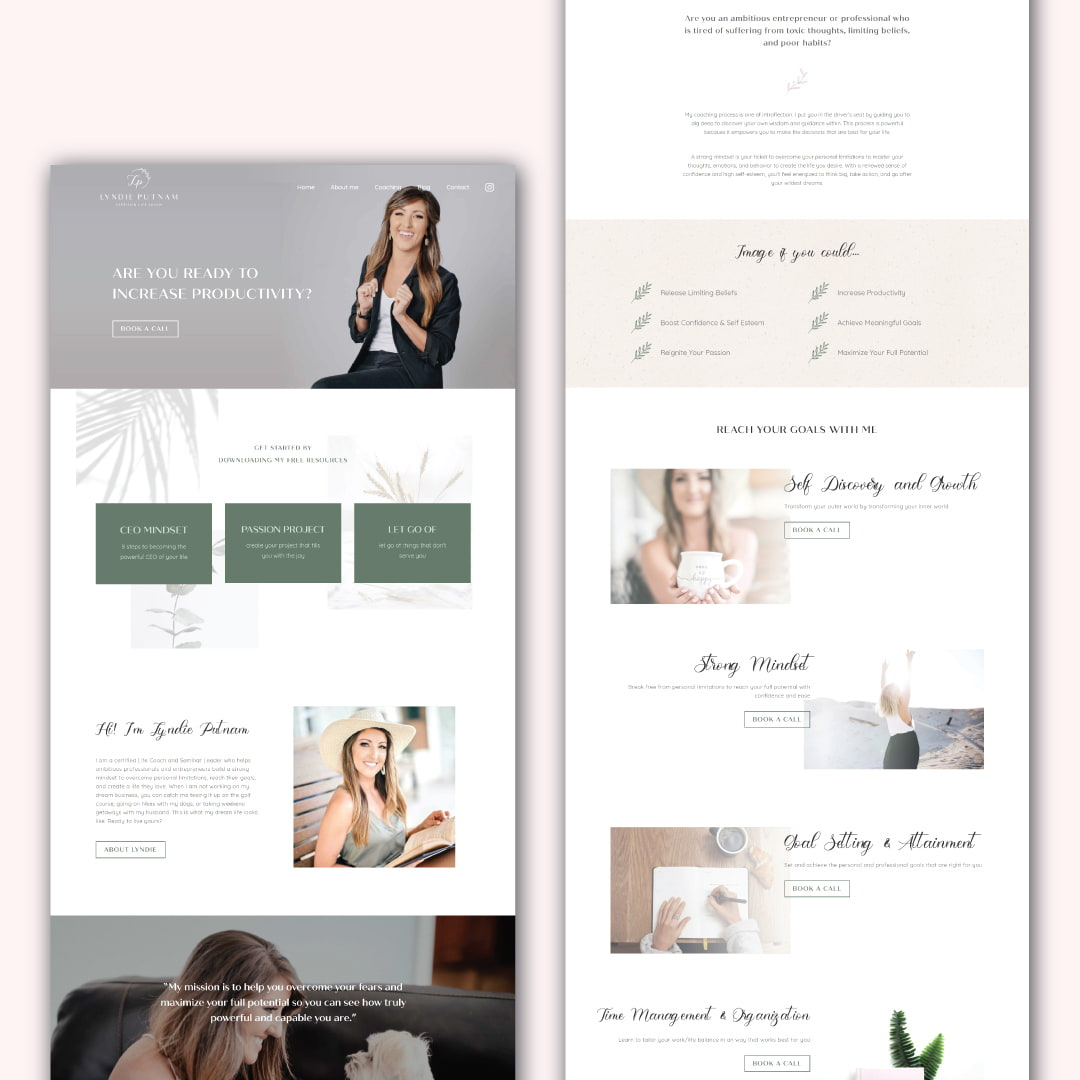 Lyndie Putnam - Brand & Web Design