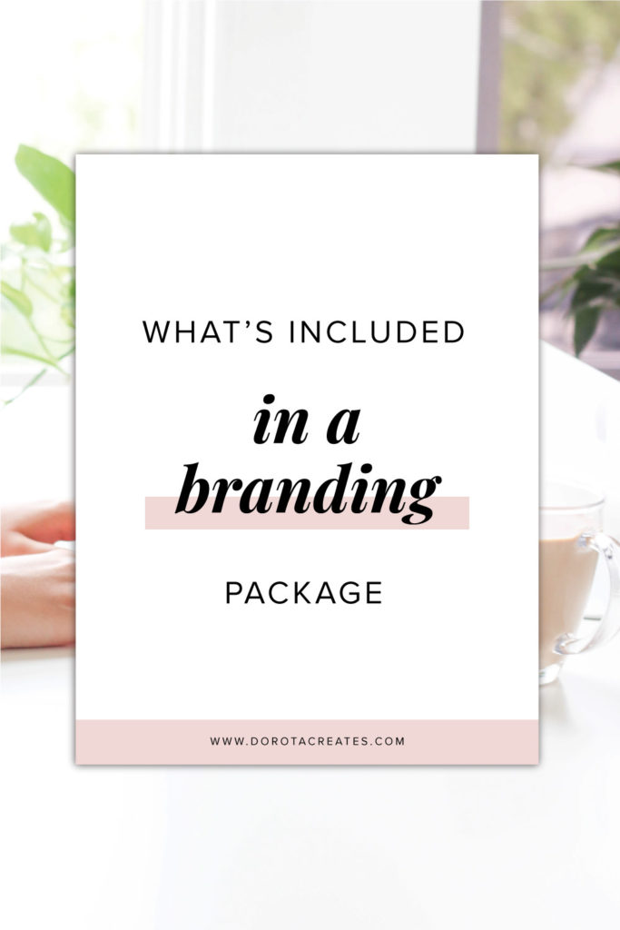 what's included in a branding package
